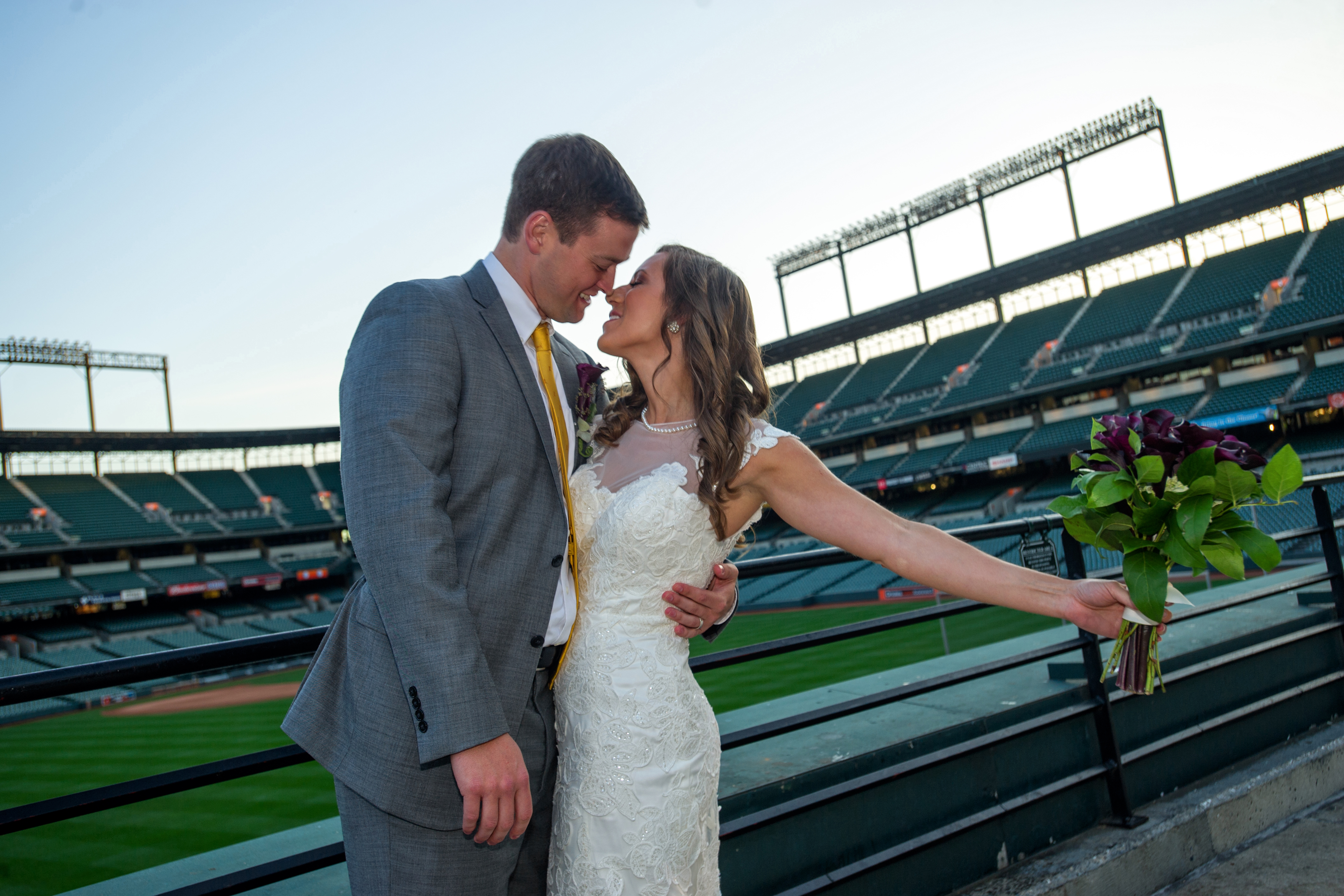 Camden Yards Wedding